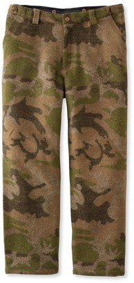 L.L. Bean L.L.Bean Men's Maine Guide Wool Pants with PrimaLoft, Camouflage