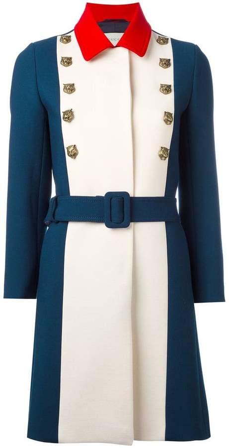 Gucci a-line coat