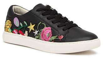 Kenneth Cole New York Kam Embroidered Leather Sneaker