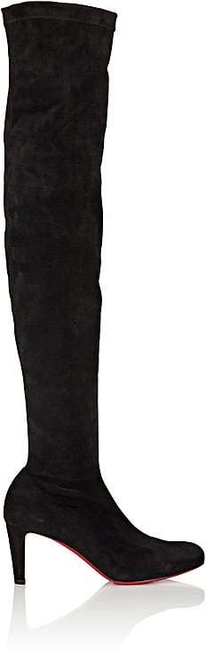 christian louboutin alta dentelle lace boots