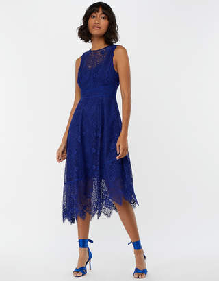 Monsoon Carey Lace Midi Dress