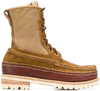 Visvim Hi Folk Grizzly boots