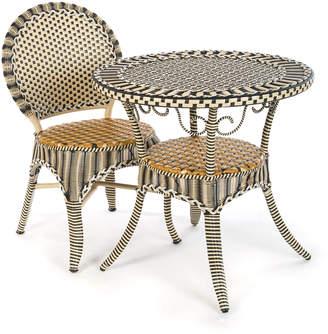 Mackenzie Childs Courtyard Outdoor Cafe Chair