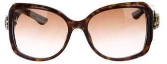 Gucci GG Square Gradient Sunglasses