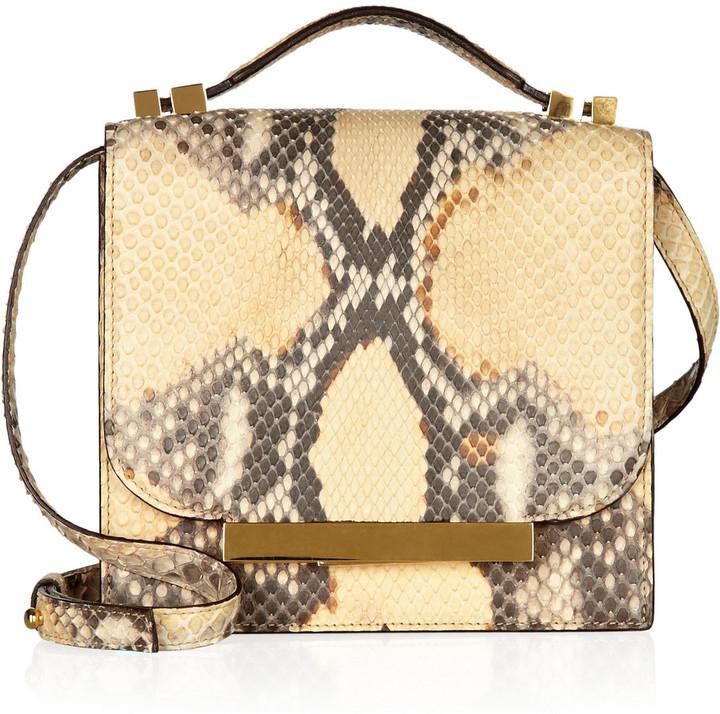 The Row Python shoulder bag
