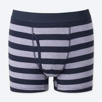 Uniqlo MEN Supima Cotton Striped Boxer Briefs