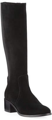 Aquatalia Jordan Suede Knee-High Boots