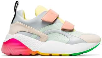 Stella McCartney pastel Eclypse faux-leather sneakers