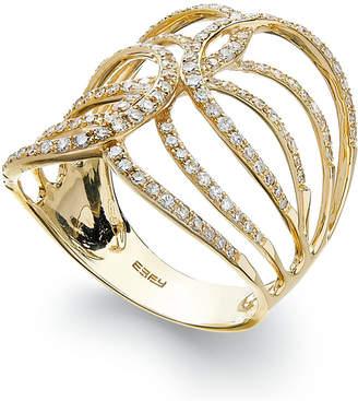 Effy D'OroTM by Diamond Swirl Ring in 14k Gold (1/2 ct. t.w.)