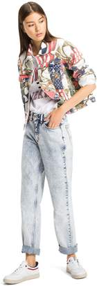 Tommy Hilfiger Capsule Collection Flag Print Denim Jacket