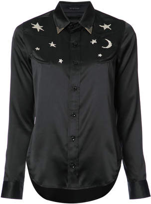 Mother embroidered shirt