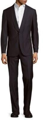 HUGO BOSS Textured Wool-Blend Suit