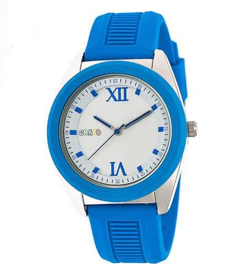 Crayo Unisex Blue Strap Watch-Cracr3604