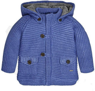 Mayoral Knit Jacket W/hood