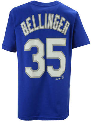 Majestic Boys' Cody Bellinger Los Angeles Dodgers Official Player T-Shirt, Big Boys (8-20)