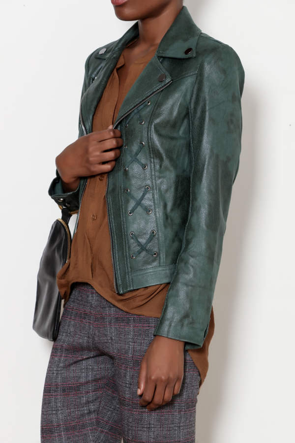 INSIGHT NYC Emerald Lace Up Jacket