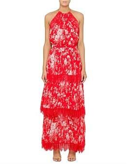 Lover Midsummer Pleat Maxi Dress