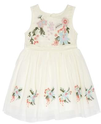 Nanette Lepore Flower Embroidered Party Dress