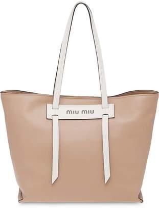 Miu Miu Grace Lux tote bag