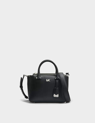 MICHAEL Michael Kors Nolita Mini Messenger Bag in Black Leather