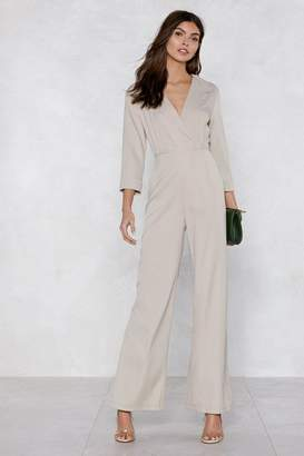 Nasty Gal Suits You Tuxedo Jumpsuit