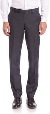 Super 100's Wool Suit Trousers