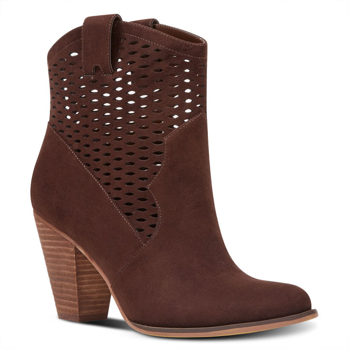 Nine West Xylie Perforated Booties