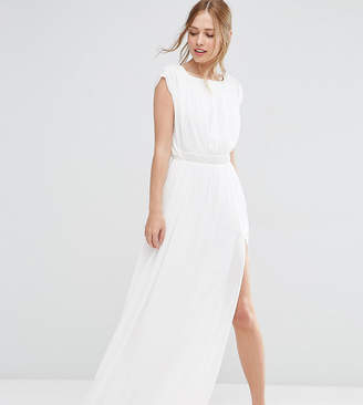 Asos Tall TALL Embellished Waist Maxi Dress