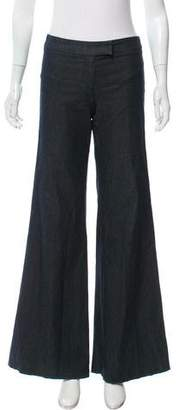 Barbara Bui Flared Mid-Rise Pants