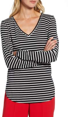 Halogen V-Neck Tunic