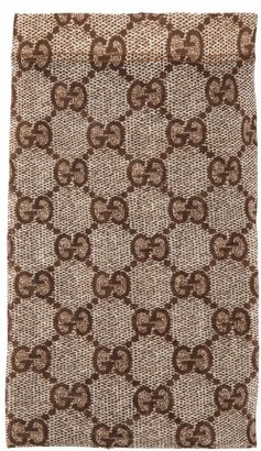 Gucci Gg Snake Print Tights - Womens - Beige Print
