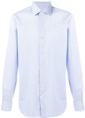 Barba pinstripe button-down shirt