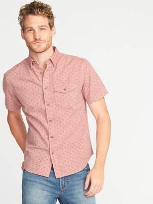 Old Navy Slim-Fit Printed Shirt for Men