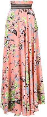 Diane von Furstenberg printed long skirt
