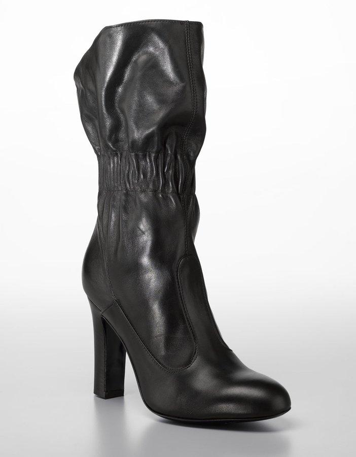 Jill Stuart Tula Cinched Slouchy Boots