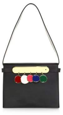 Edie Parker Candy Leather Rainbow Bag