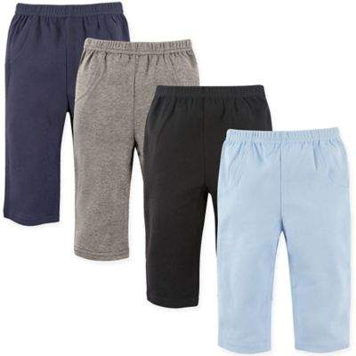 4-Pack Solid Pants