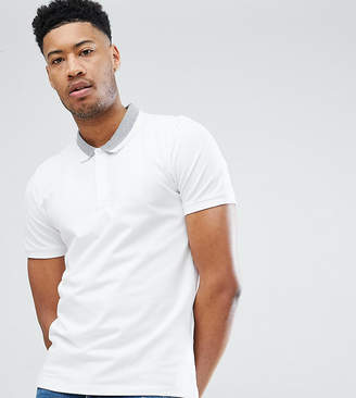 Selected Polo Shirt With Tipping