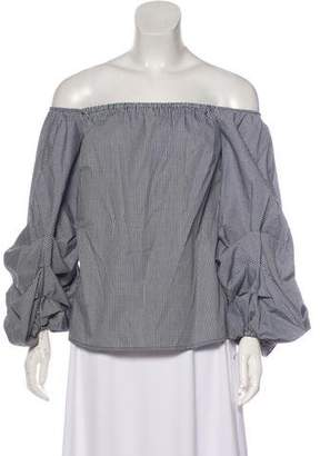 Petersyn Off-The-Shoulder Blouse w/ Tags