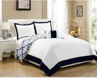 Chic Home Trina 4 Pc King Duvet Cover Set Bedding