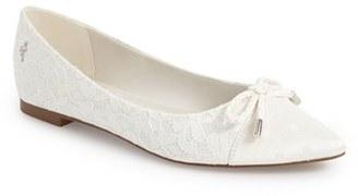 Women's Menbur 'Edurne' Pointy Toe Flat $77.95 thestylecure.com