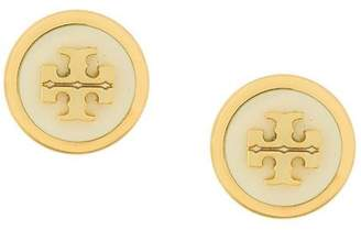Tory Burch round logo earrings