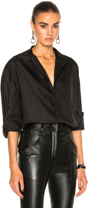 Haider Ackermann Oversized Shirt $985 thestylecure.com