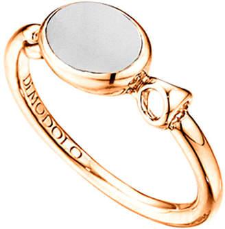 Di Modolo 18K Rose Gold Over Silver Agate Ring