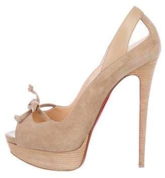 Christian Louboutin Maleva 150 Suede Pumps