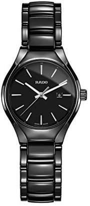Rado Women's True 30mm Ceramic Band & Case Quartz Analog Watch R27059152
