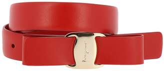 Salvatore Ferragamo Belt Belt Buckle Vara Rainbow In Genuine Smooth Leather Adjustable