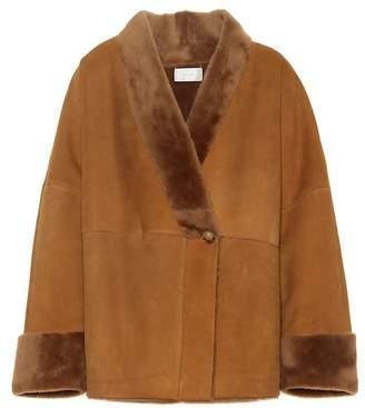 The Row Pernia shearling jacket