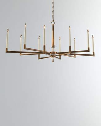 John-Richard Collection Modern 10-Light Chandelier