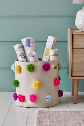 Next Bright Pom Storage Basket